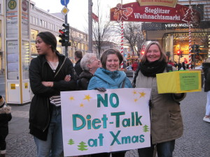 No Diet Talk At Christmas
