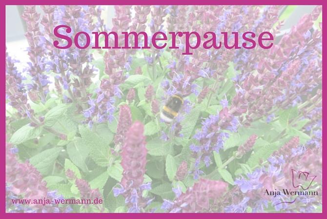 Anja Wermann Ich will Dich aufblühen sehen Sommerpause 2016