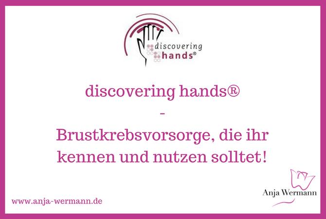 Titelbild des Beitrags, das das Logo von discovering hands zeigt